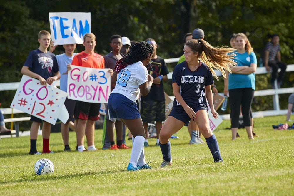 Girls Varsity Soccer vs. Stoneleigh Burnham School  - September 16, 2017  -101.jpg