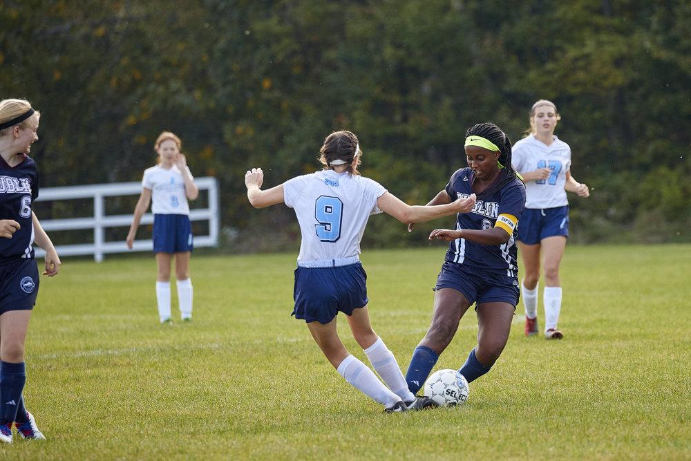 Girls Varsity Soccer vs. Stoneleigh Burnham School  - September 16, 2017  -116.jpg