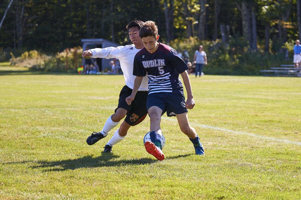 Boys Varsity Soccer vs. Kimball Union Academy - September 23, 2017    - 61223.jpg