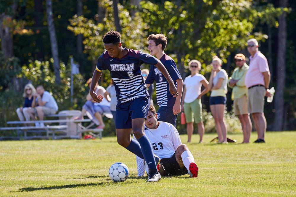 Boys Varsity Soccer vs. Kimball Union Academy - September 23, 2017    - 61391.jpg