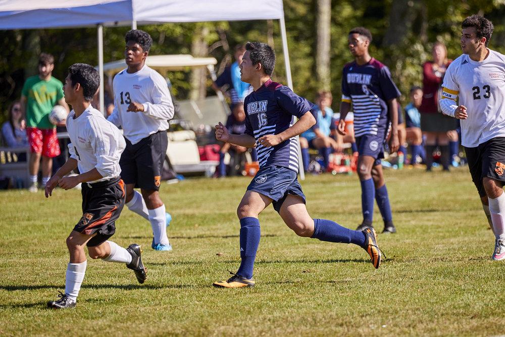 Boys Varsity Soccer vs. Kimball Union Academy - September 23, 2017    - 61557.jpg