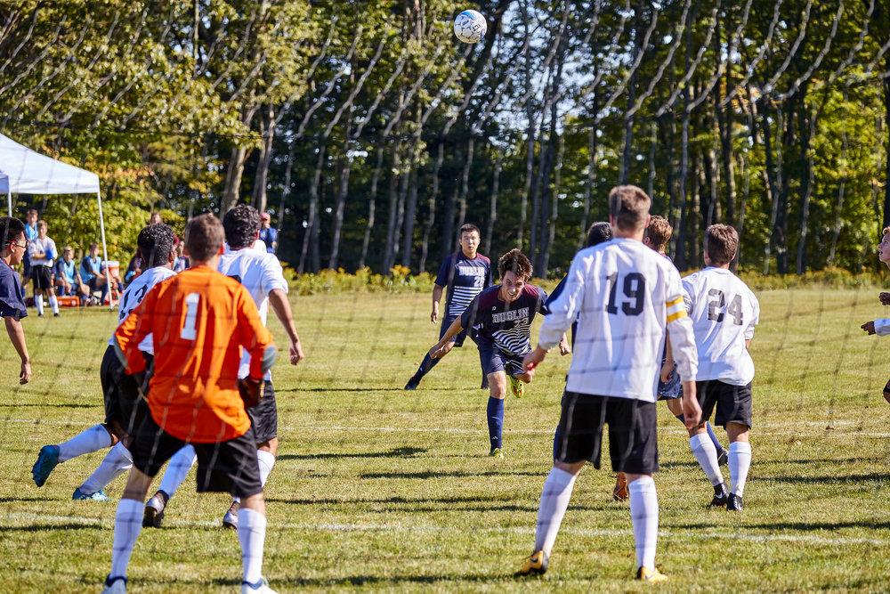 Boys Varsity Soccer vs. Kimball Union Academy - September 23, 2017    - 61525.jpg