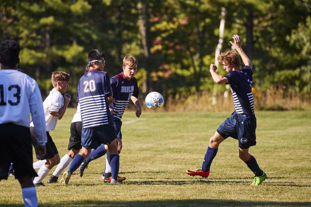 Boys Varsity Soccer vs. Kimball Union Academy - September 23, 2017    - 61635.jpg