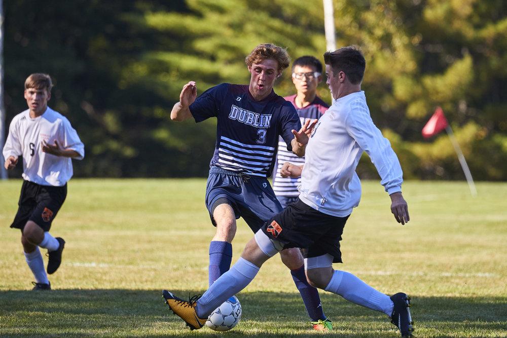 Boys Varsity Soccer vs. Kimball Union Academy - September 23, 2017    - 61653.jpg