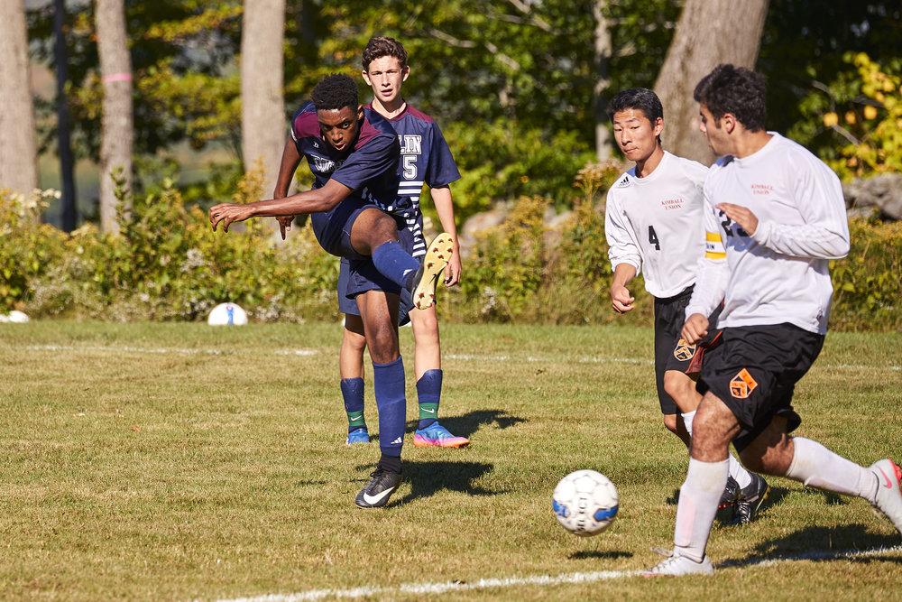 Boys Varsity Soccer vs. Kimball Union Academy - September 23, 2017    - 61855.jpg