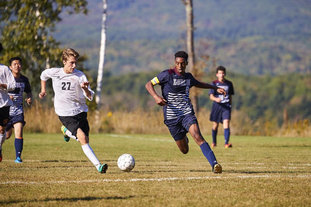 Boys Varsity Soccer vs. Kimball Union Academy - September 23, 2017    - 61927.jpg