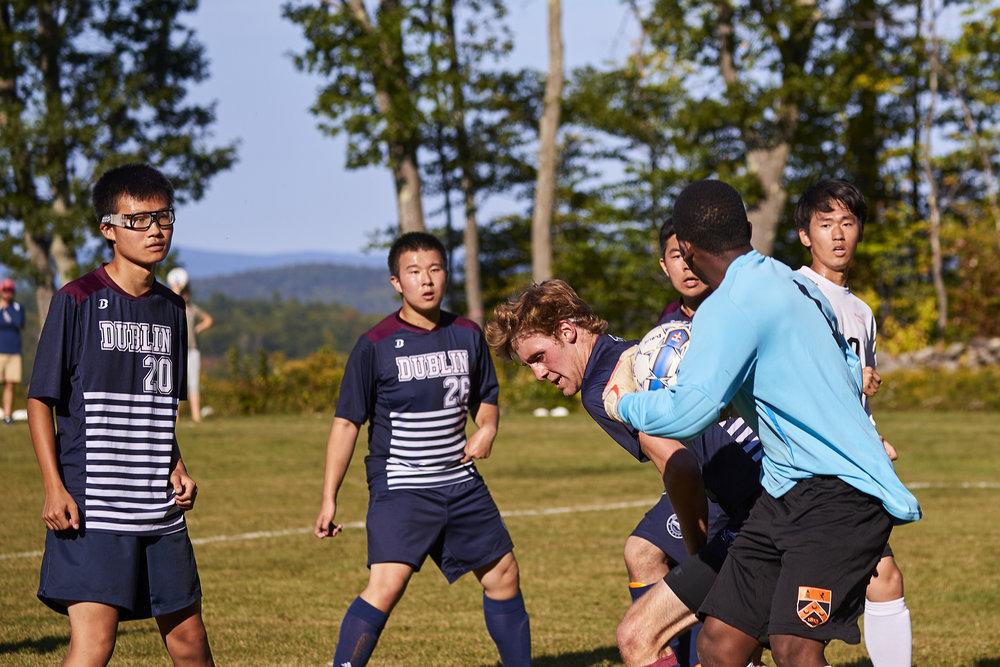 Boys Varsity Soccer vs. Kimball Union Academy - September 23, 2017    - 61987.jpg