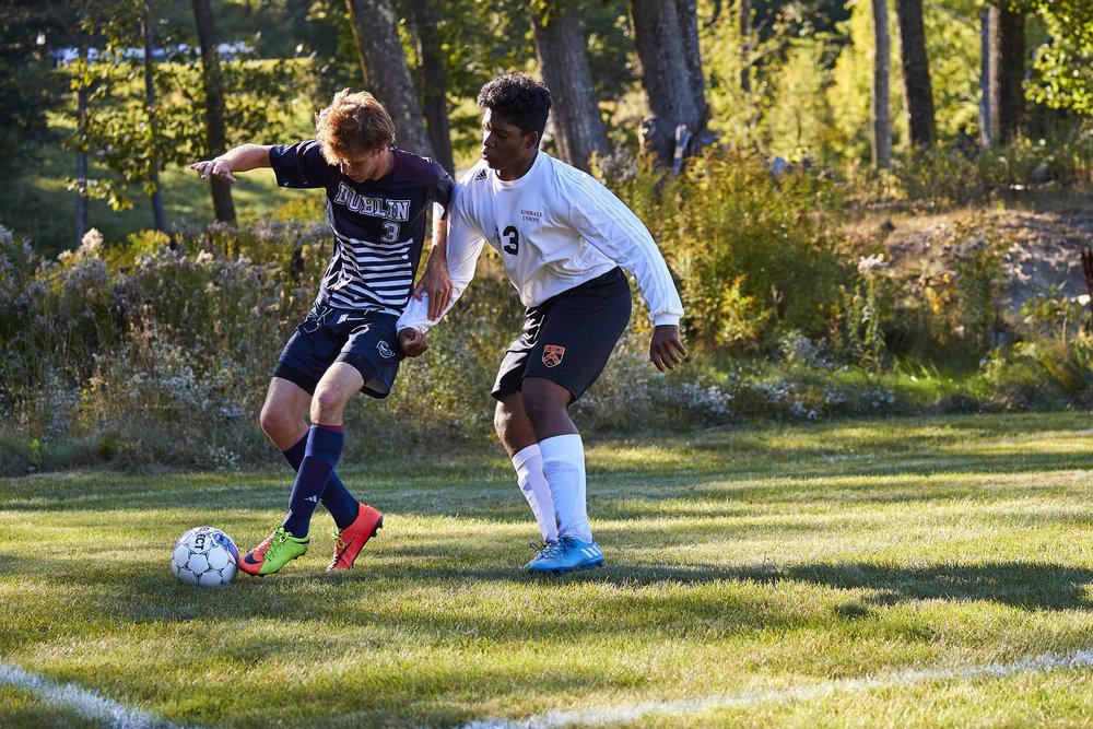 Boys Varsity Soccer vs. Kimball Union Academy - September 23, 2017    - 61976.jpg