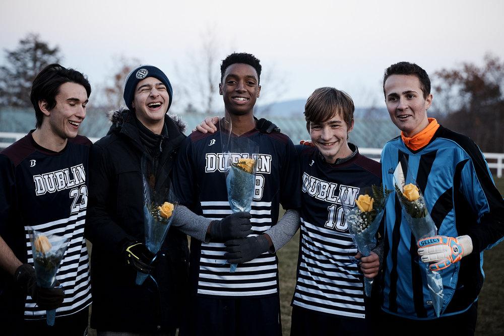 Boys Varsity Soccer vs. Putney School - October 11, 2017   - 9555.jpg