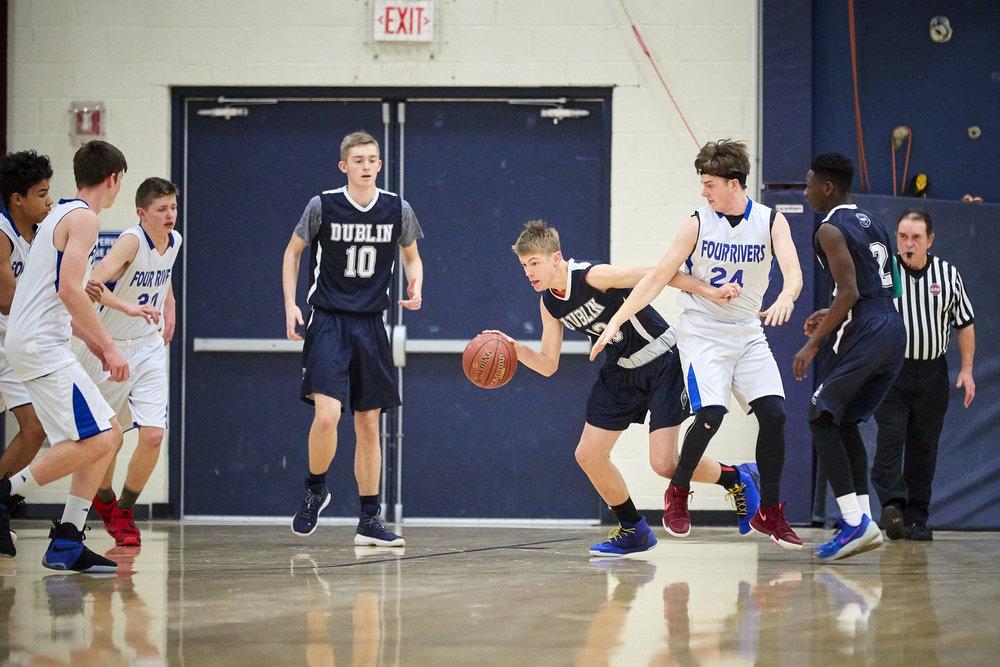 Boys Varsity Basketball vs. Four Rivers Charter Public School - January 12, 2018 85055.jpg