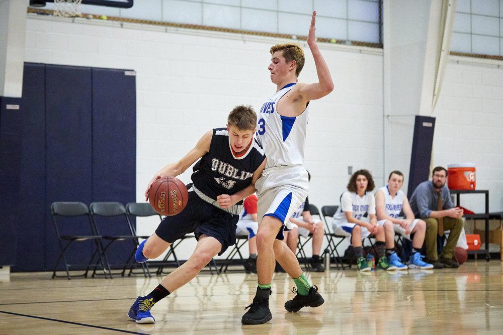 Boys Varsity Basketball vs. Four Rivers Charter Public School - January 12, 2018 85149.jpg