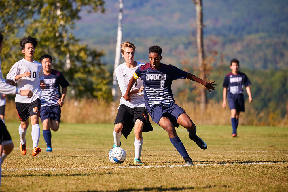 Boys Varsity Soccer vs. Kimball Union Academy - September 23, 2017    - 61932-X3.jpg