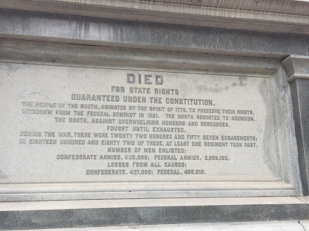 The Austin, Texas Memorial.