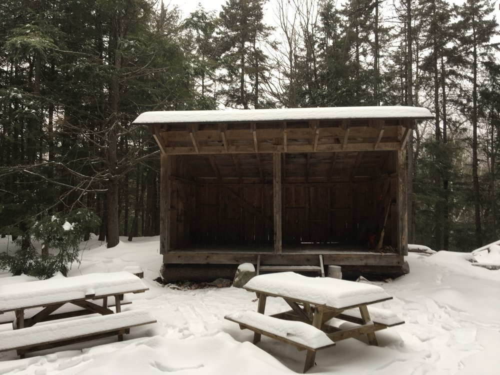 Have you ever skied to the lean-to on the lower trails?