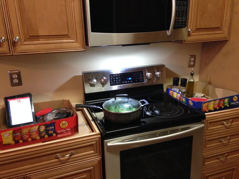 Cranberry Kitchen Countertops