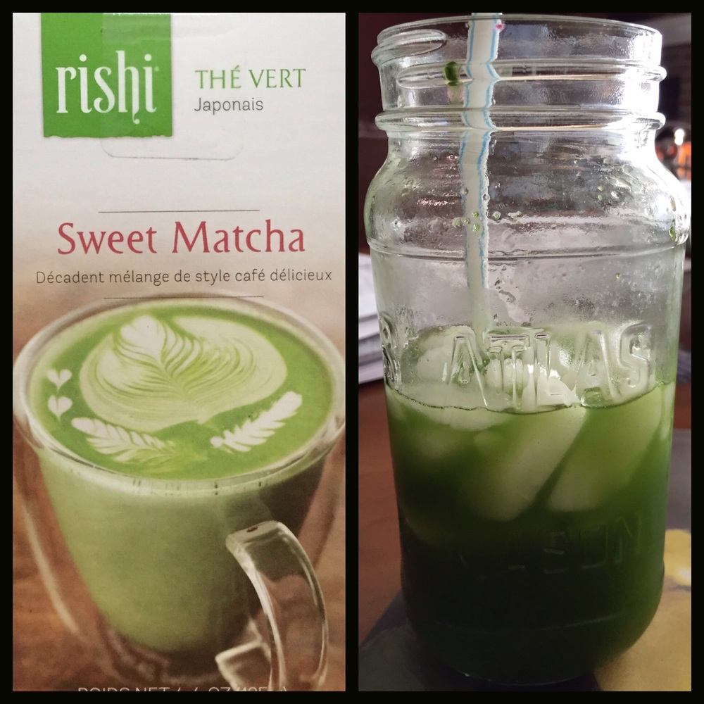 Matcha Lemonade 50 calories