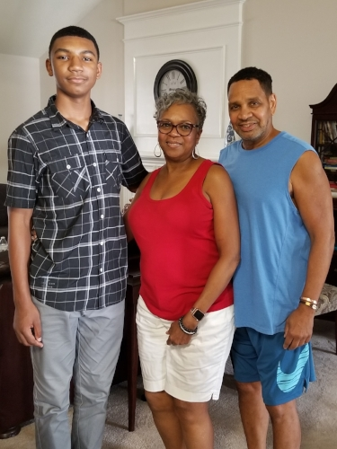 Christopher, Mimi, & Granddaddy  August 2018