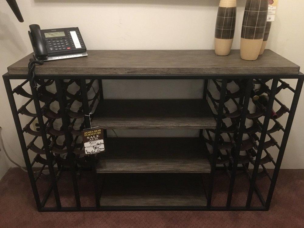 hooker wine rack $985 -