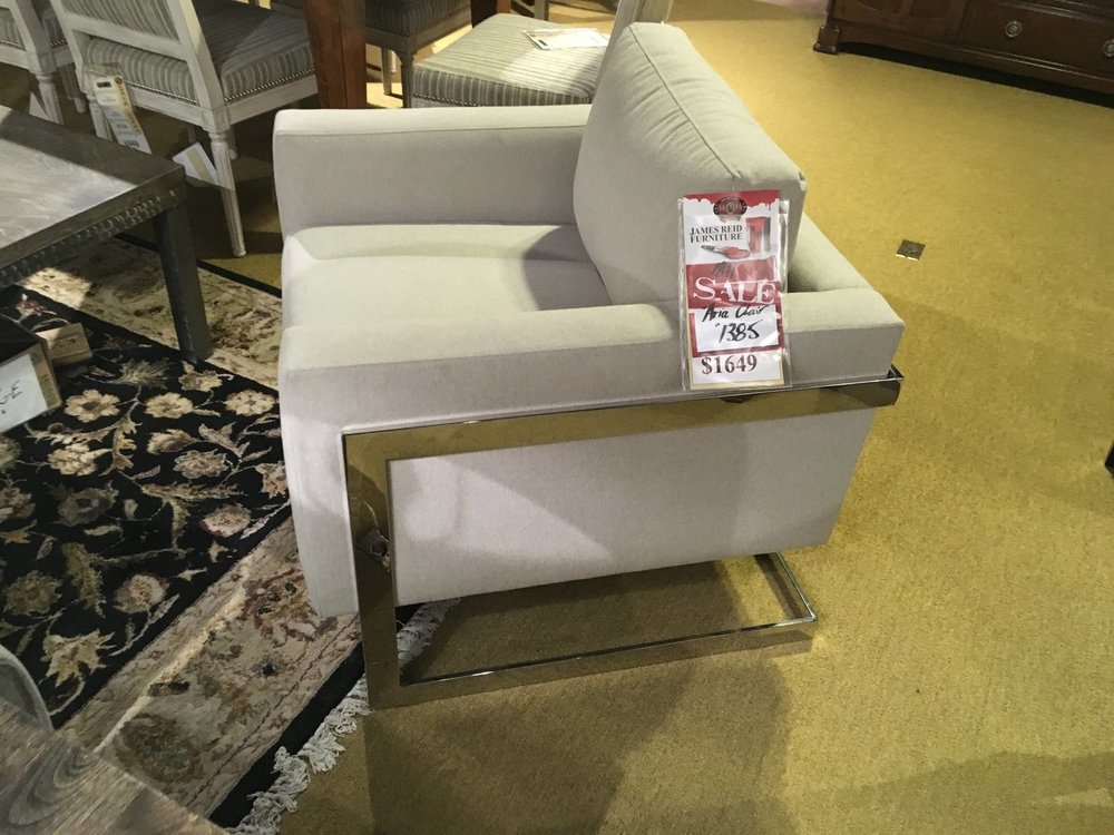 aria chair $1385 -