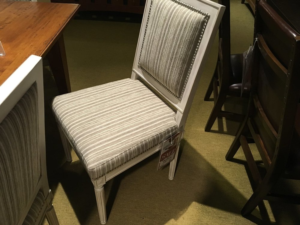 set of 6 bernhardt chairs $3595 -