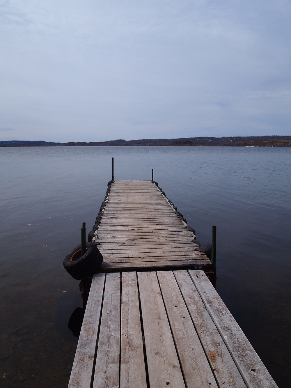 Beach dock in...let summer begin!