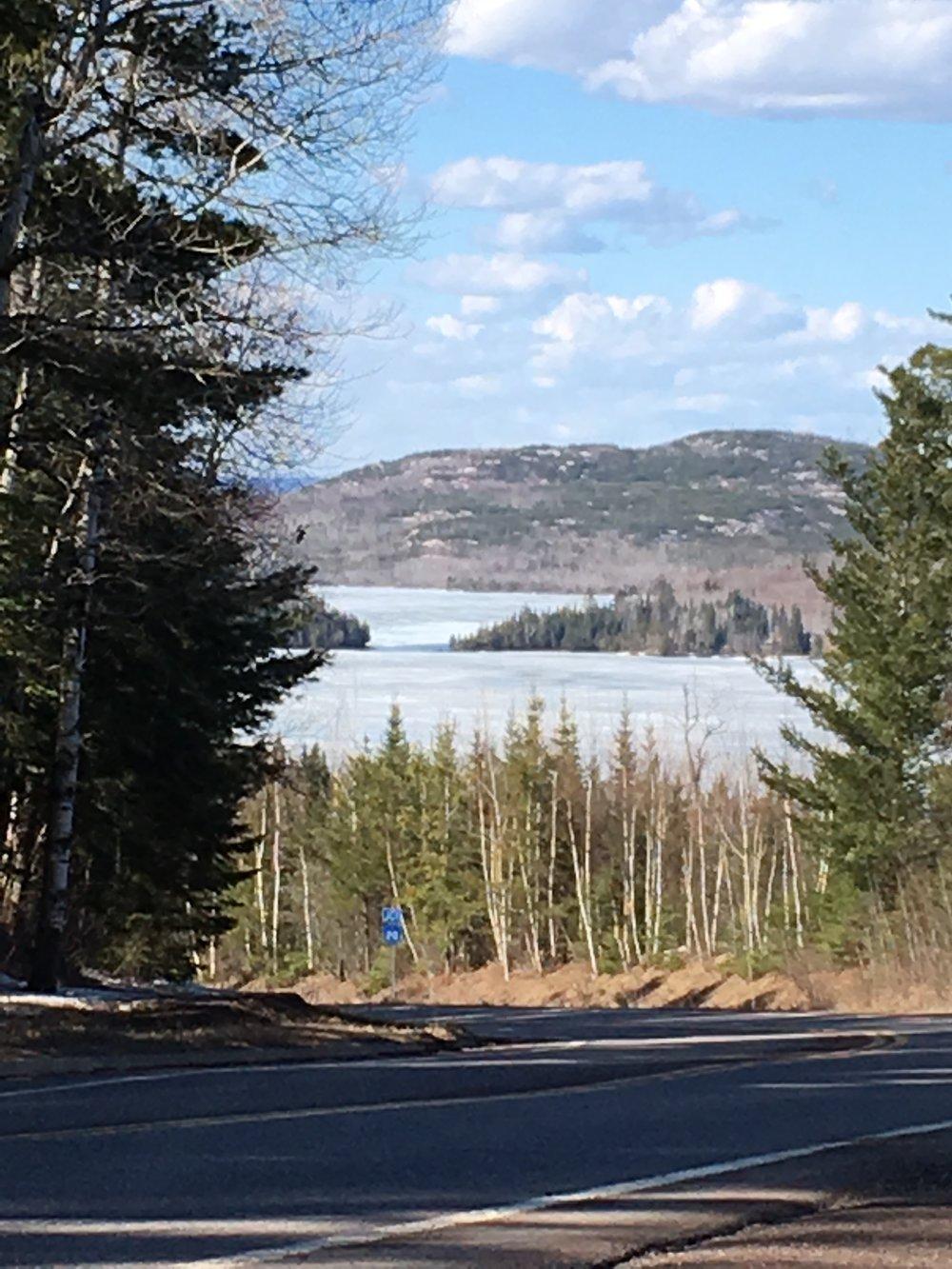 Gunflint Lake 4.16.19
