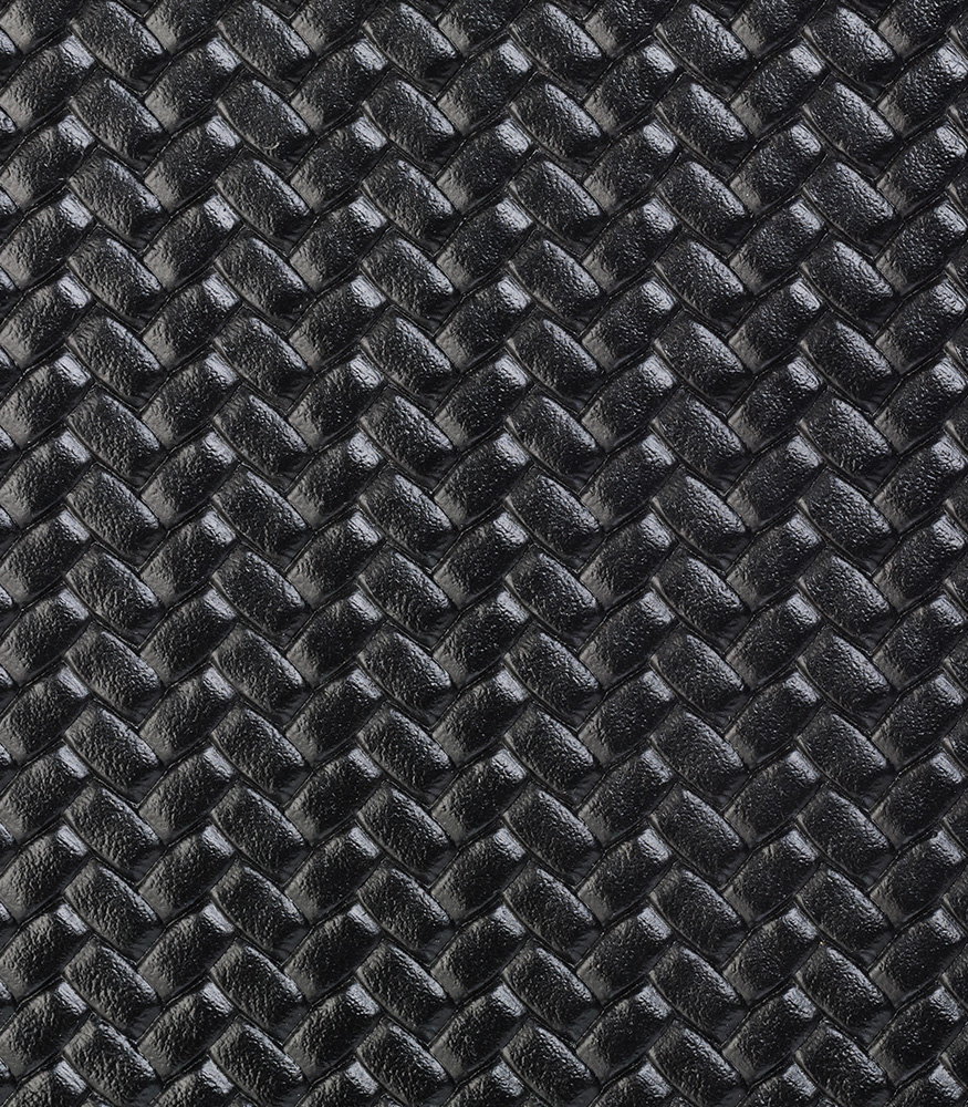 Black Herringbone