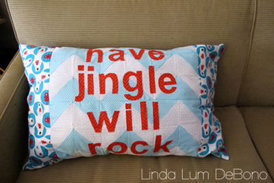 Have Jingle Will Rock  Copyright 2012 Linda Lum DeBono