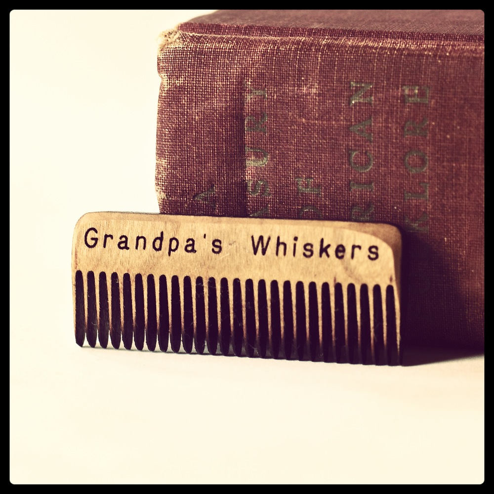 Grandpa's Whiskers Beard Comb