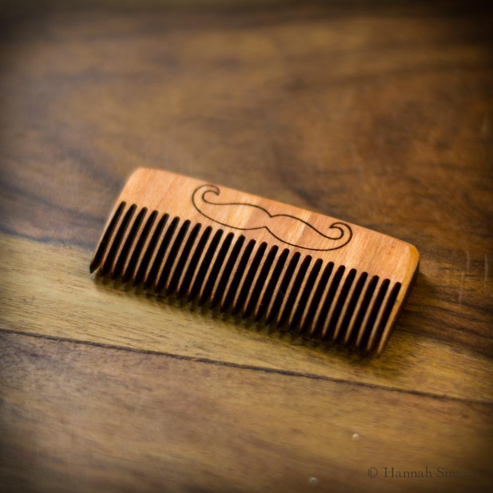 mustache-comb