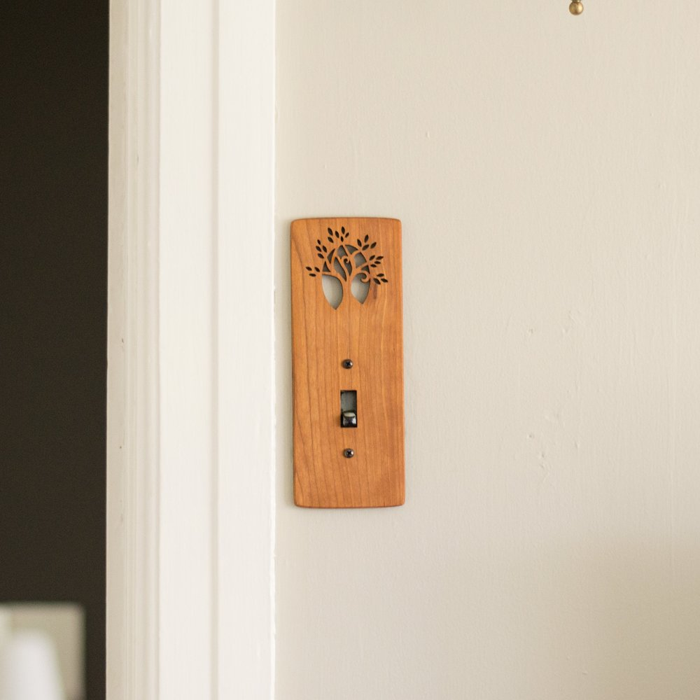 3. Light Switch Cover - Artistic light switch covers add beauty to any home. Gift a little bit of extra style.
