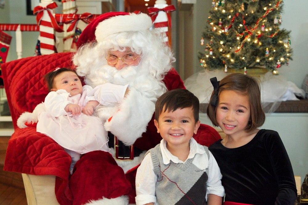 Santa at Acuity, last December, 2011