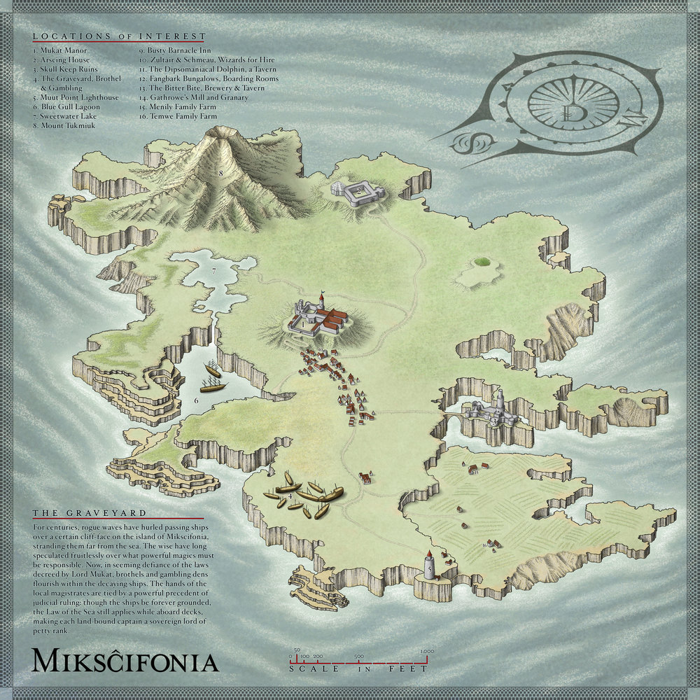 Mikscifonia, the Smaller Island
