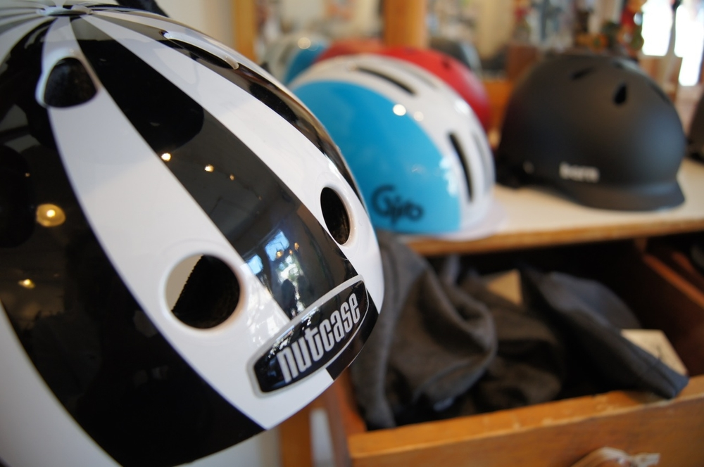 Non-sport helmets. Just as safe but with a touch of fun and urbanity.