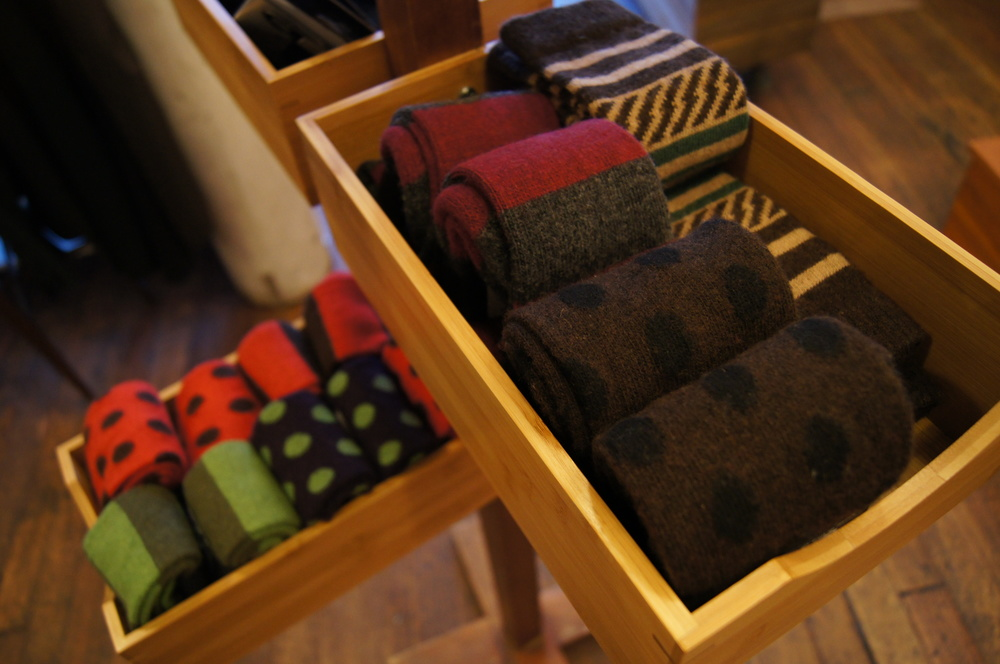 Nothing like cold feet to sap your enthusiasm for riding. Keep them cozy with wool and cashmere socks.