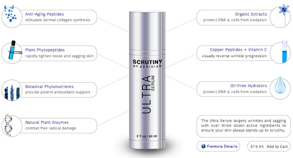 The Ultra Serum™ is an oil-free gel that offers anti-wrinkle, anti-sagging, and anti-oxidant therapies for the face and neck. It is perfect for multiple skin types, including dry, oily, acne-prone, and sensitive skin. This anti-aging serum can be applied at any time and is especially suggested as a day-therapy.