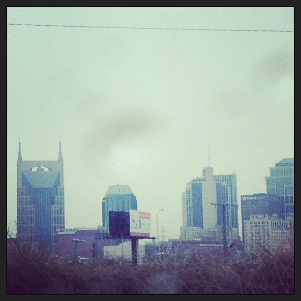 I took this photo when I was commuting from St. Louis to Nashville. Never dreamed I'd be lucky enough to call this city home.