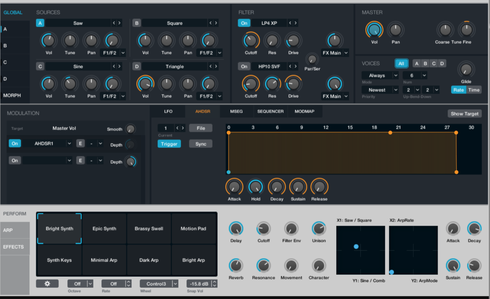 Alchemy is incredibly difficult to learn, even for pros. I spent over 4 hours learning the basics, and am just now beginning to experiment with synth design. That said, it's still worth using for just the presets alone.