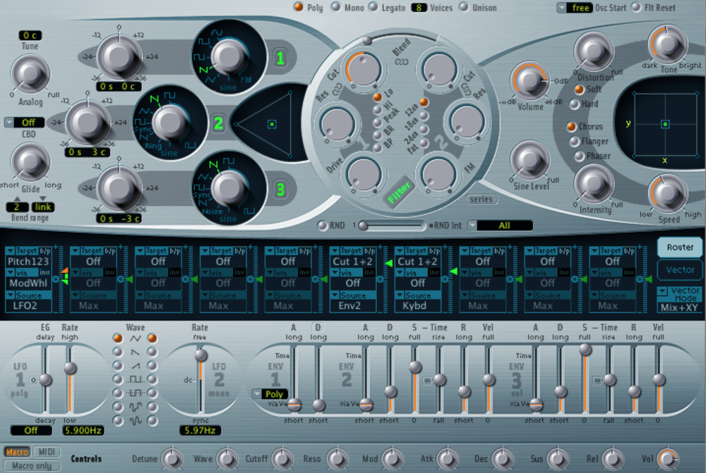Everyone from Flo Rida to Lady Gaga has used this synth, and I still prefer it over almost all other plugins.