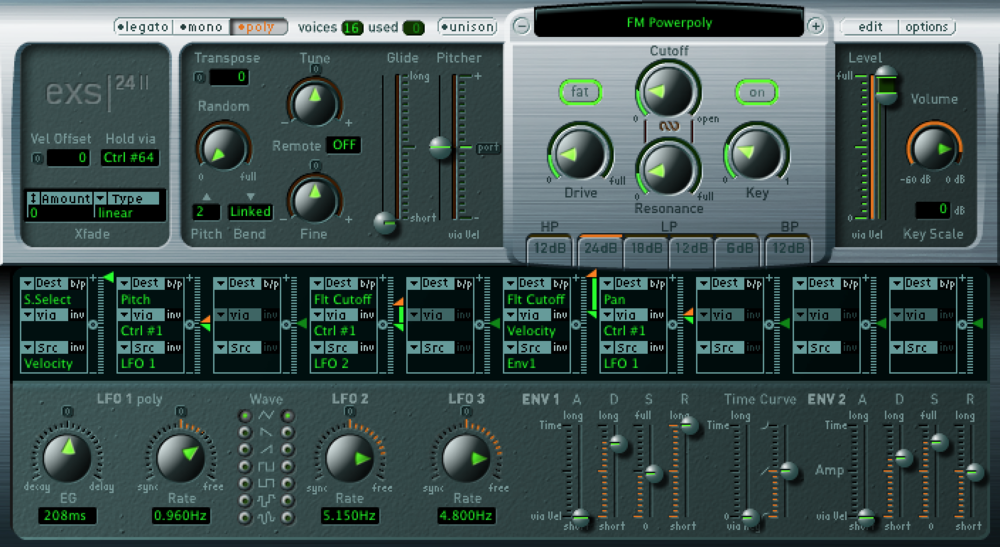 While you can use this synth for a range of tones, it's synth presets often get missed.