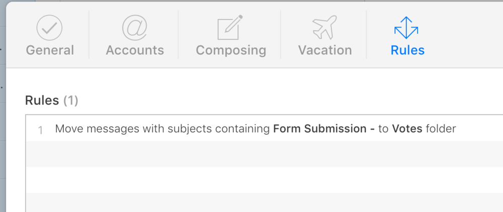 You can get really fancy with Apple's Mail rules, using multiple categories.