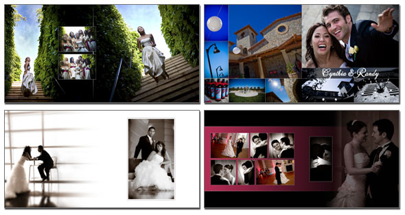 Wedding Album Design - Custom created wedding album design