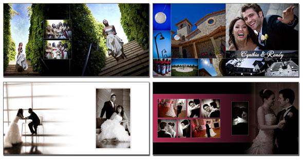 create wedding album