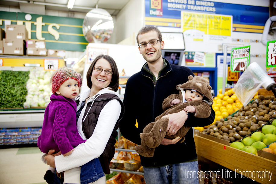 So the Karpeles wanted a background that seemed normal to them, so they suggested their local grocery store. Why not? I had never shot in a grocery store before! It was much fun and I think it added so much uniqueness to their photos. I love these next few.