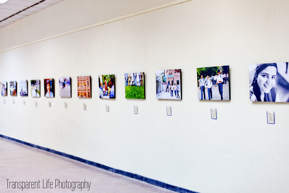 Here are all of my photos again for the exhibition.