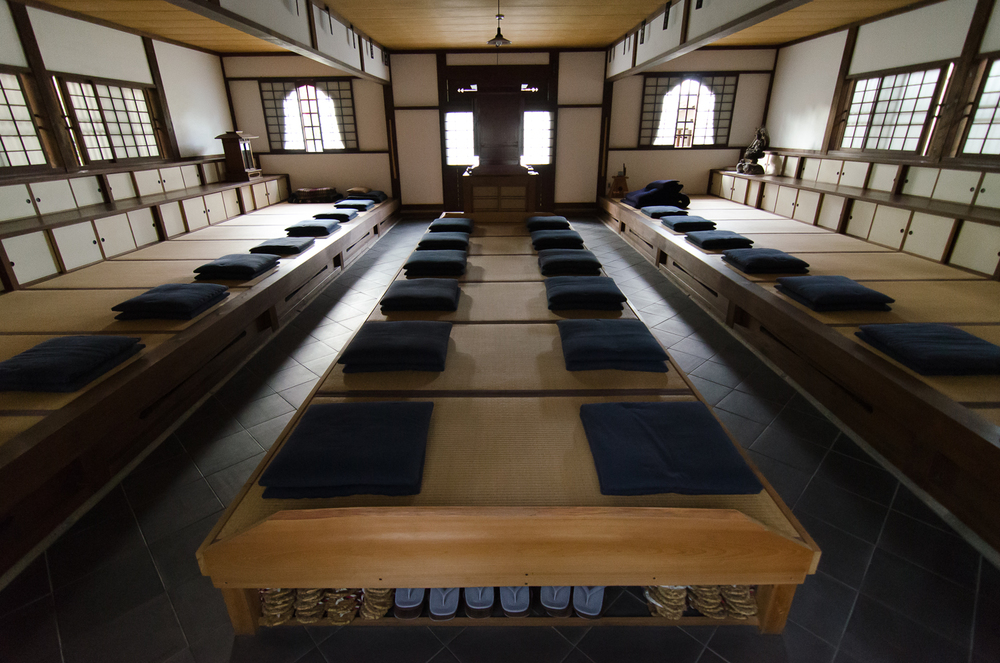 The Meditation Room at Enkoji Temple in Kyoto, Japan. Photo by Paul Crouse