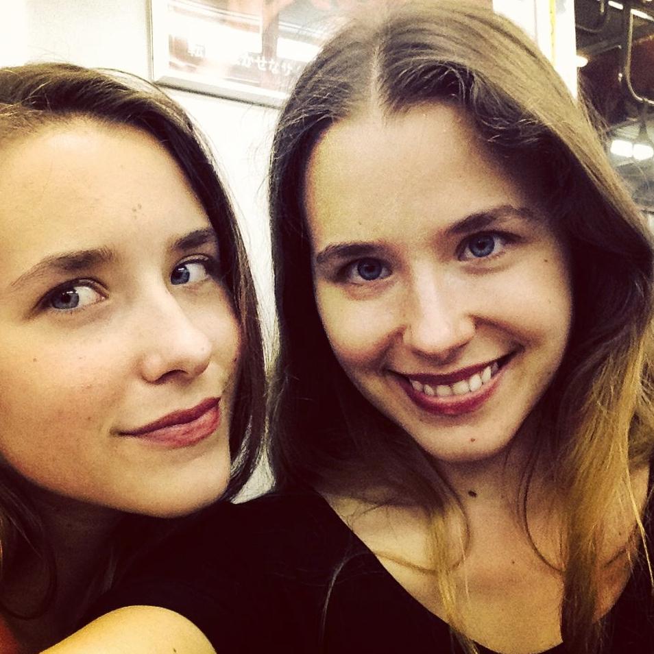 Reylia and Johnna Slaby
