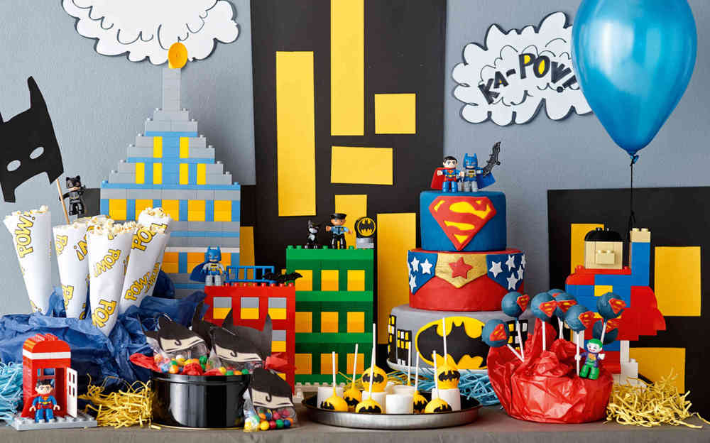 How to build a superhero birthday party