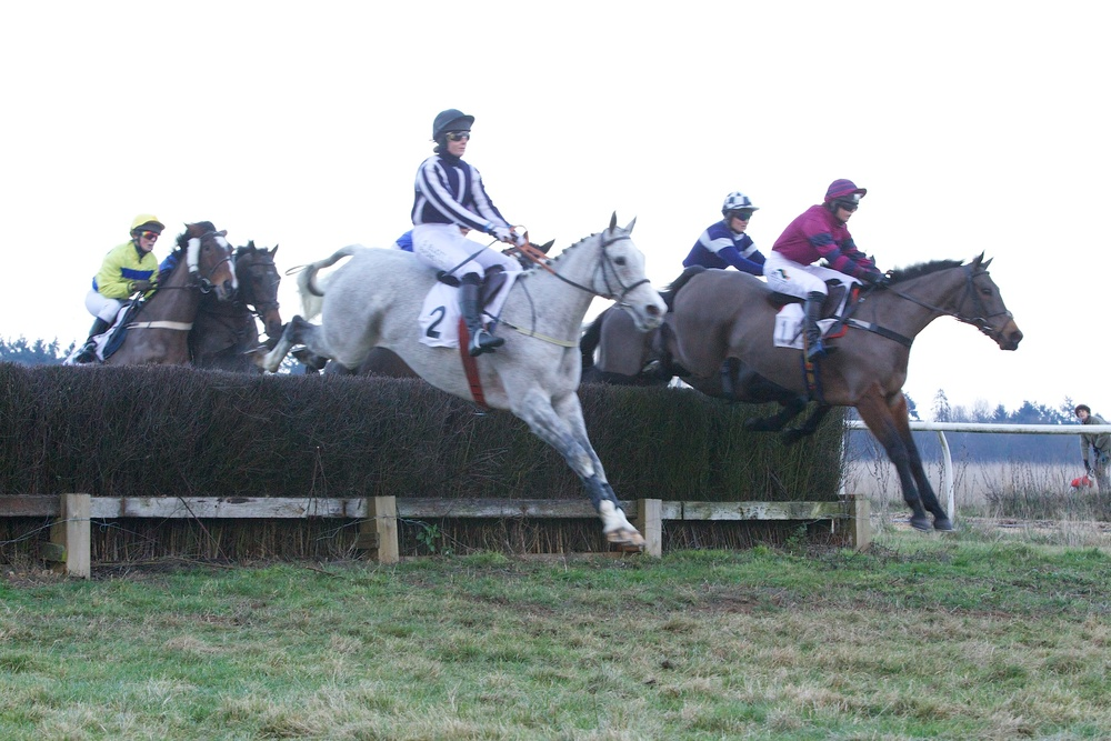 Start Royal (Gina Andrews) just in front of the grey, Kells Castle (Annie Bowles)