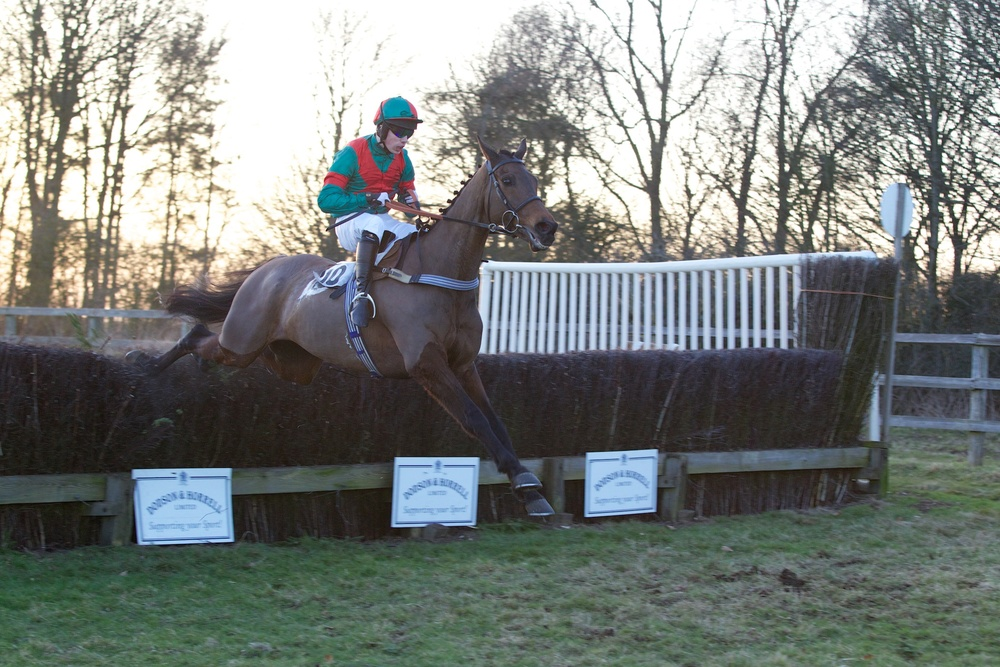 New Alco and Max Kendrick fly the last fence